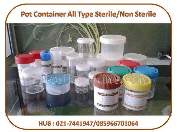 Pot Container All Type Sterile/Non Sterile