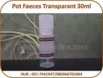 Pot Faeces Transparant 30ml