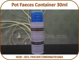Pot Faeces Container 30ml