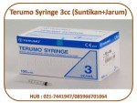 Terumo Syringe 3cc (Suntikan+Jarum)