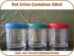Pot Urine Container 60ml