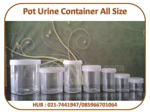Pot Urine Container All Size
