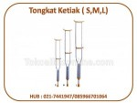 Tongkat Ketiak (S,M,L)