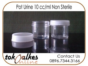 Pot Urine 10 cc ml Non Sterile