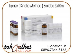 Lipase ( Kinetix Method ) Biolabo 3x10ml