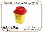 Tempat Sampah Medis | Medical Sharp Container 2 Ltr Type CS 2 liter