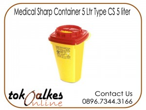 Medical Sharp Container 5 Ltr Type CS 5 liter