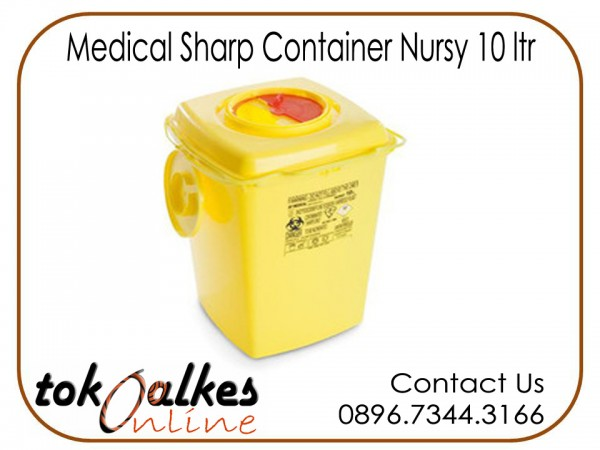 Medical Sharp Container Nursy 10 ltr