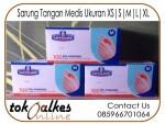Sarung Tangan Medis Safeguard Ukuran XS | S | M | L | XL