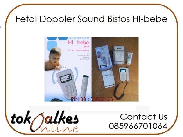 Fetal Doppler Sound Bistos HI-bebe