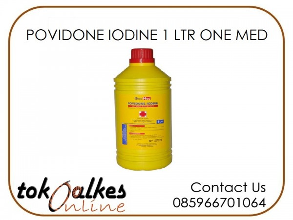 POVIDONE IODINE 1 LTR ONE MED