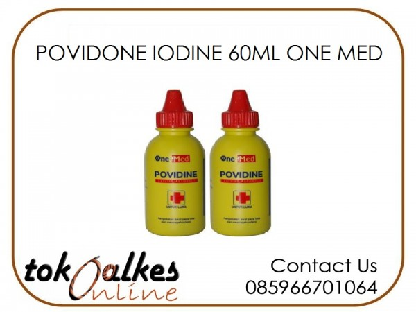 POVIDONE IODINE 60ML ONE MED