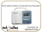 ECG Med Cardio 3 Channel TouchScreen