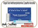 Rapid Test Methamphetamine Cassette Monotes