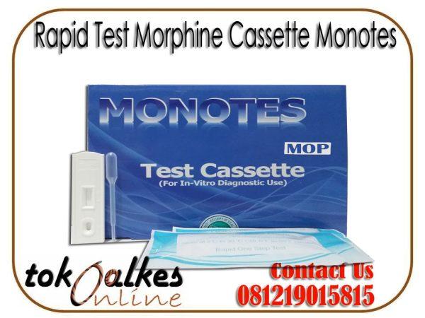Rapid Test Morphine Cassette Monotes