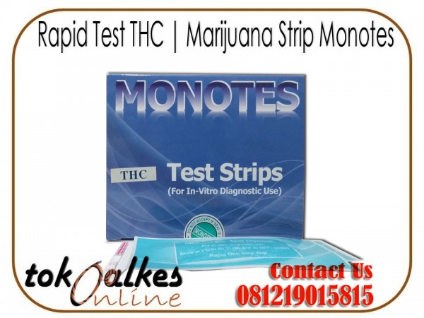 Rapid Test THC Marijuana Strip Monotes
