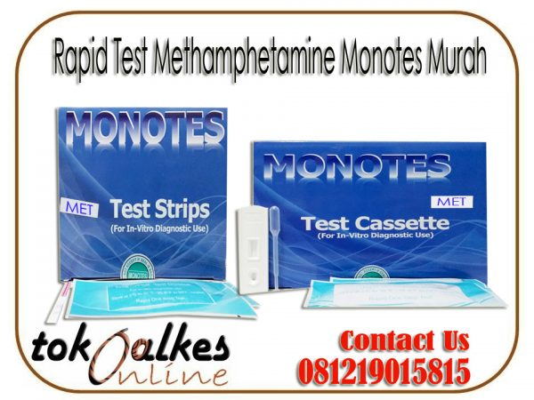 Rapid Test Methamphetamine | MET Monotes Murah