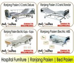 Bed Pasien Murah | Ranjang Pasien Murah | Hospital Furniture Murah