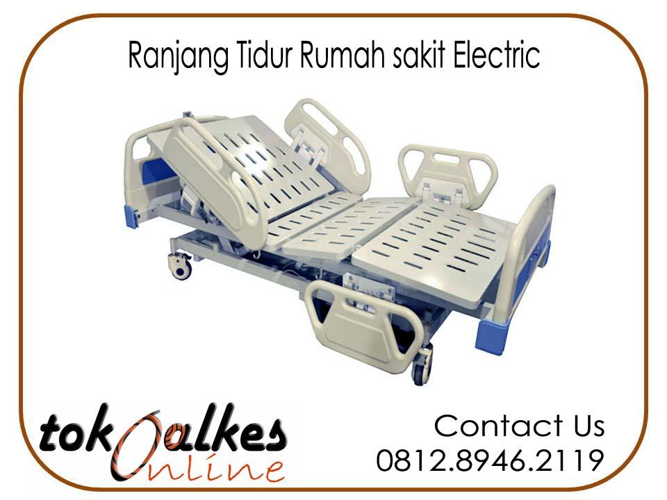 Jual Ranjang Pasien 3 Engkol ( Crank ) ABS Kupu Kupu Harga Murah Distributor Tempat Tidur rumah Sakit Lengkap
