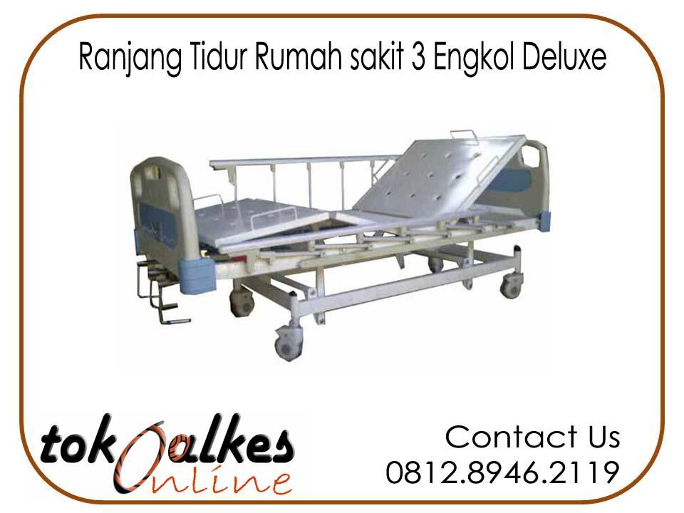 Jual Ranjang Pasien 3 Engkol ( Crank ) Abs Harga Murah Standard Rumah Sakit