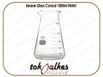 Beaker Glass Conical 1000ml IWAKI