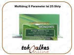 Monotes Drugs Test Kit Rapid Narkoba Multidrug 6 Parameter Isi 25 Strip