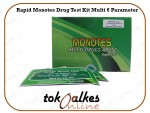 Rapid Monotes Drug Test Kit Multi 6 Parameter
