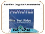 Rapid Test Drugs AMP Amphetamine Casette Device Drug Monotes Isi 25 Alat Tes Urine Narkoba Termurah