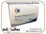 Rapid Test Narkoba Benzodiazepine BZO Device Cassette Card Tes Orient Gene Isi 25 Alat Cek Drugs